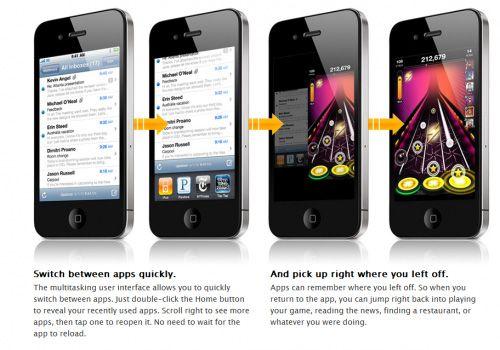 4 ipods followed by text description