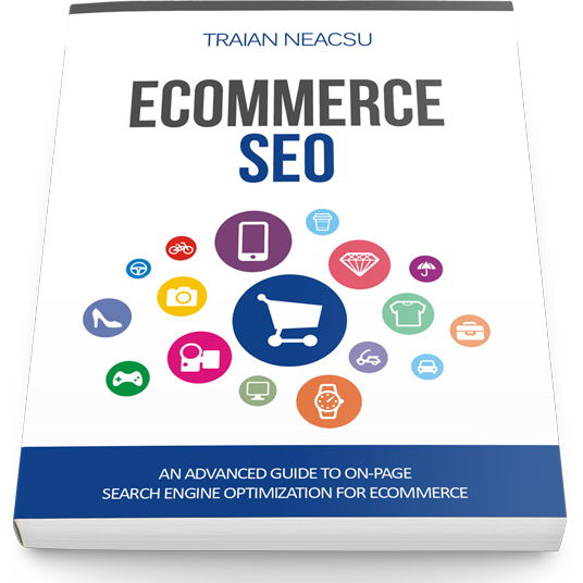 Front Cover Ecommerce SEO Book