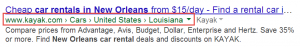 Search engines can sometimes display the website taxonomy directly in the search engine results pages (aka SERPs).